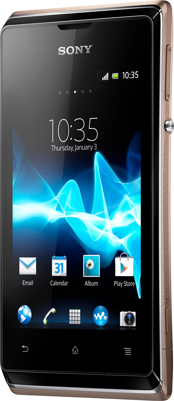 Sony Xperia E Dual (Champagne, 4 GB)(512 MB RAM)