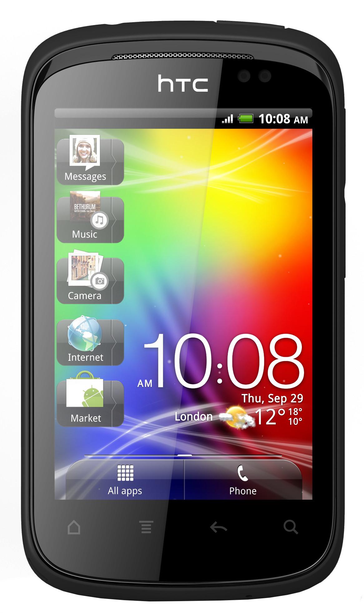 HTC Explorer (512MB RAM, 512MB)
