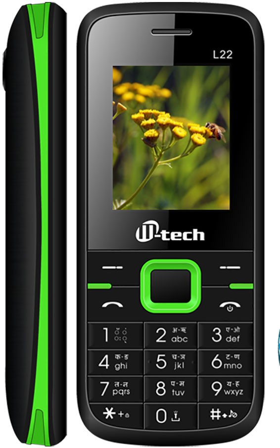 M-tech L22 BLACK+GREEN(Black, Green)