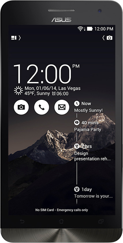 Asus Zenfone 6 (Deep Black, 16 GB)(2 GB RAM)