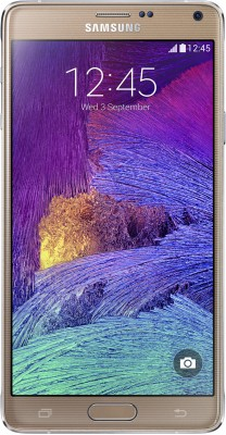 SAMSUNG Galaxy Note 4 (Bronze Gold, 32 GB) Bronze Gold