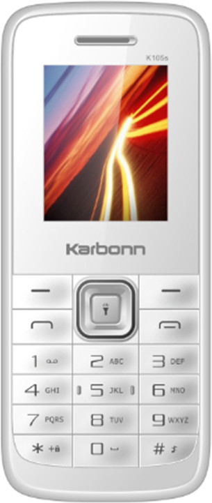 Karbonn K105s(White and Silver)