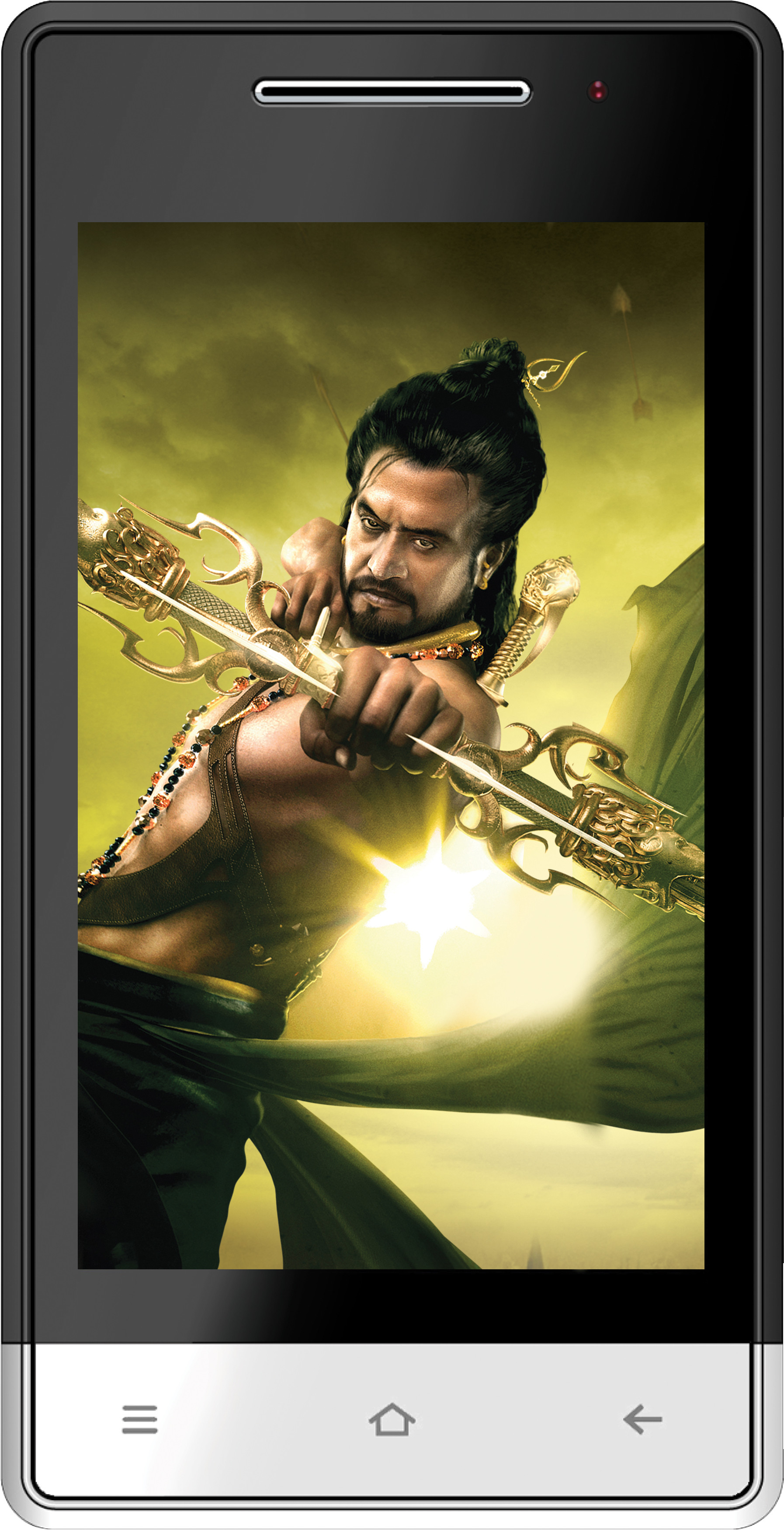 Karbonn A6 Plus Kochadaiiyaan The Legend (Black and White, 104 MB)(512 MB RAM)