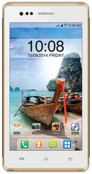 Intex Aqua 4.5e (White and Champange, 1 GB)(512 MB RAM)