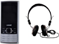 Mobell MOBELL M570 with Envent Headphone(Black)