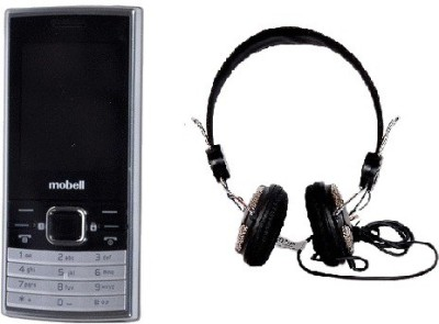 Mobell MOBELL M570 with Envent Headphone (Black, )