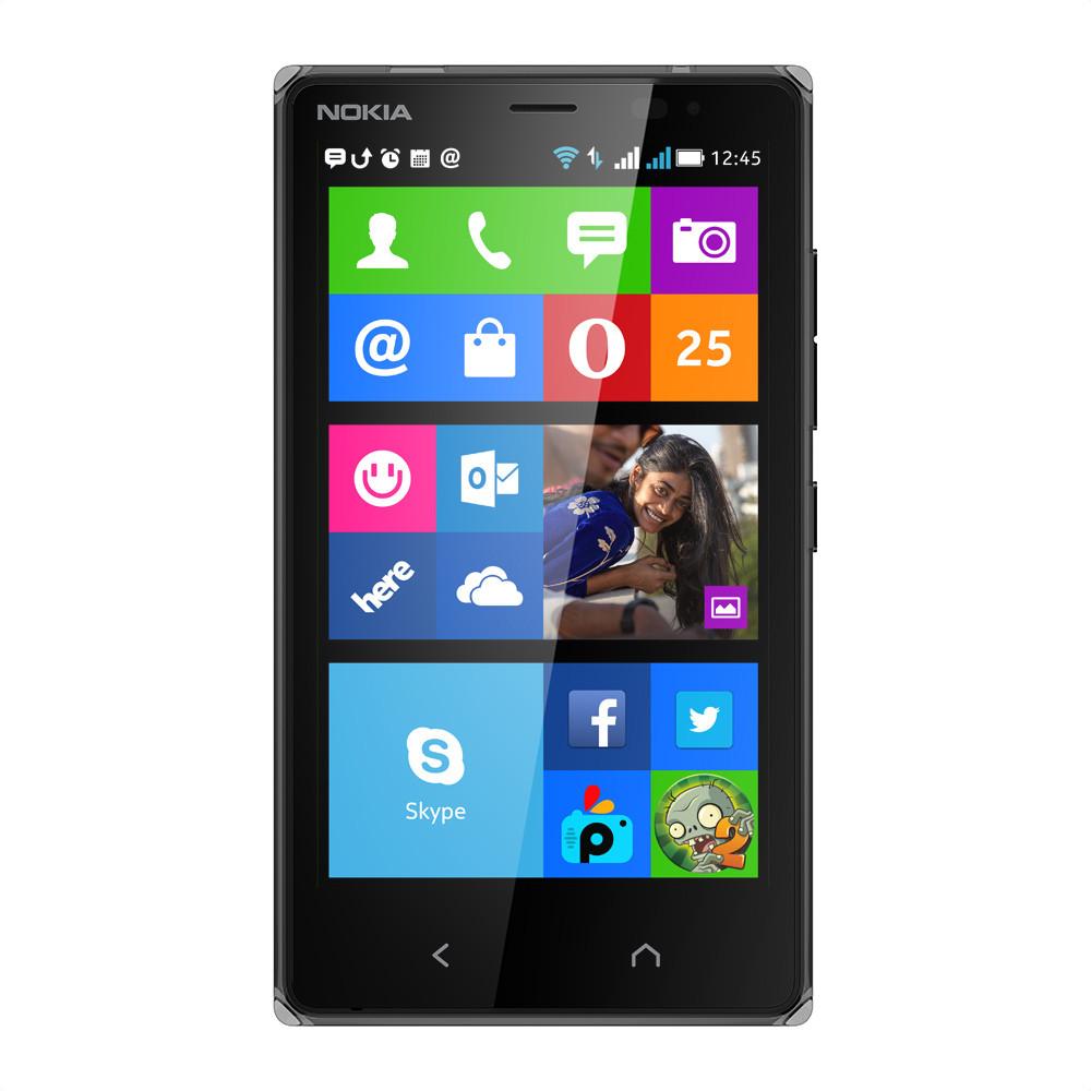 Nokia X2 Dual SIM (Black, 4 GB)(1 GB RAM)