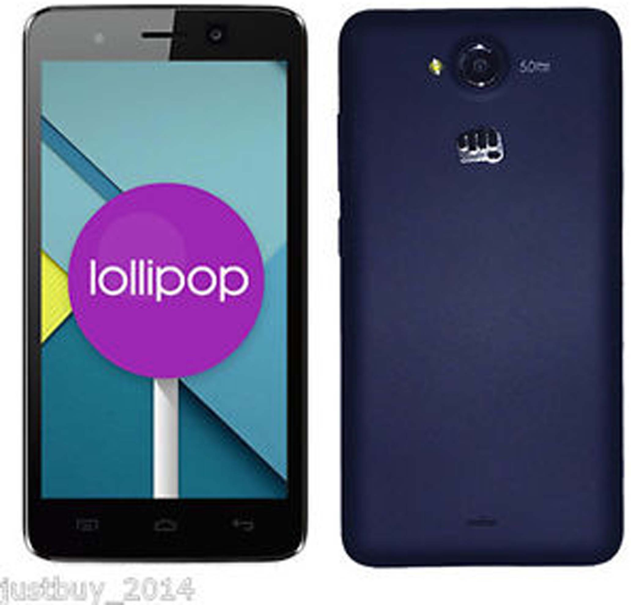 Micromax Canvas Play (Blue, 1 GB)(1 GB RAM)