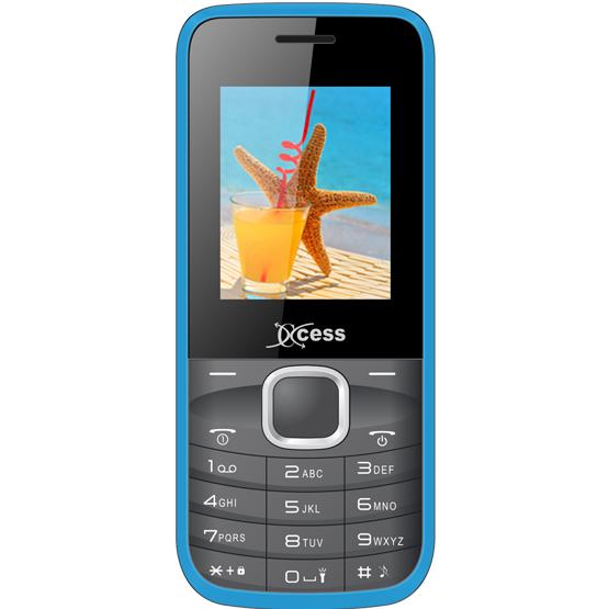 Xccess X104(Black, Blue)