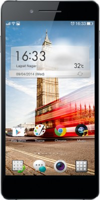 OPPO R1 R829 (Black, 16 GB)(1 GB RAM) at flipkart