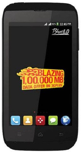 ZTE MTS Blaze 4.0 Black (Black, 4 GB)(512 MB RAM)