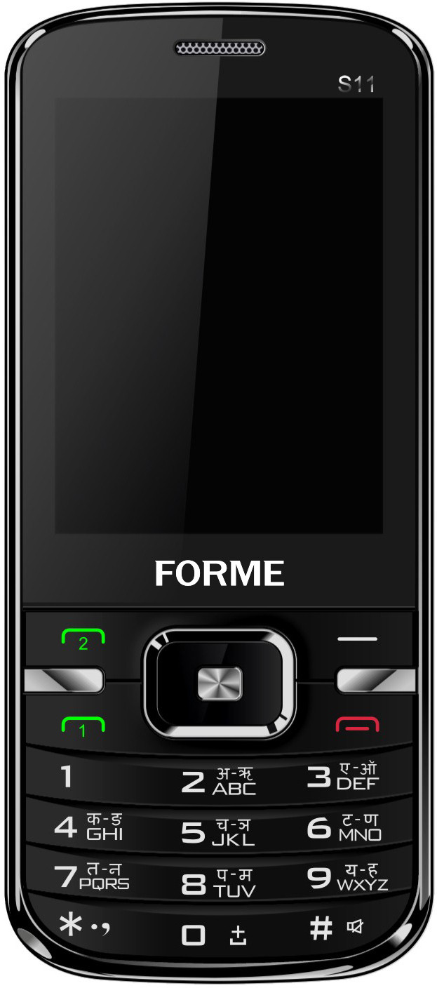 Forme S11(Tarnish Black)