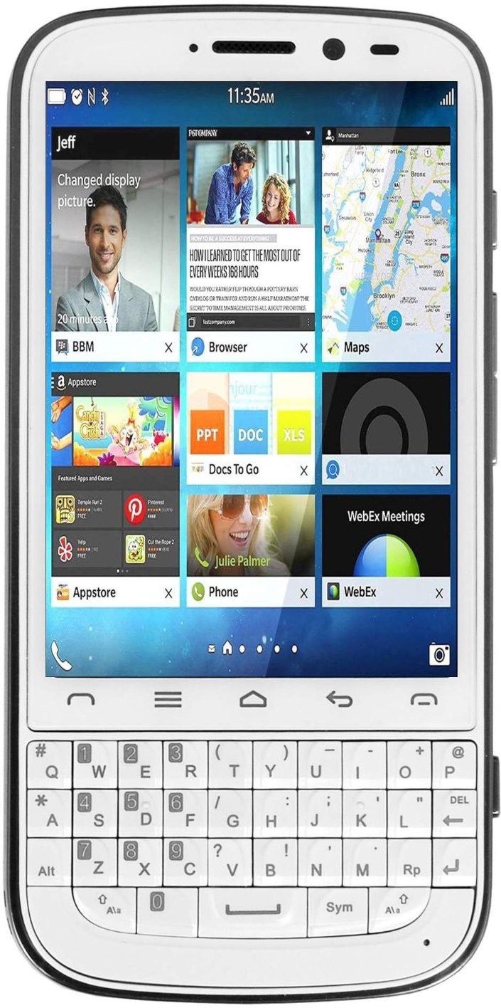 Cyrus Chat (White & Silver, 4 GB)(1 GB RAM)