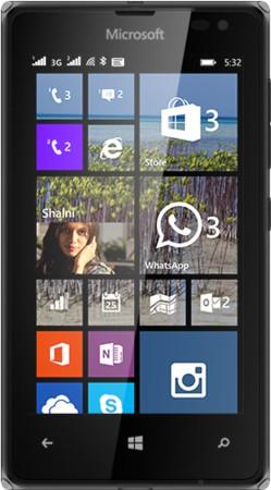 Microsoft Lumia 532 (Black, 8 GB)(1 GB RAM)