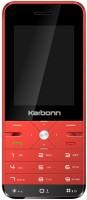Karbonn K Phone 9 Dual Sim - Red & Black(Red)