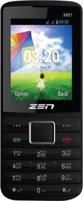 Zen M81 Gsm+Cdma (Black, 200 MB)