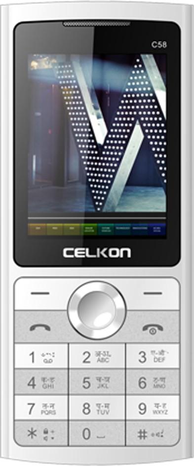 Celkon C58(White)