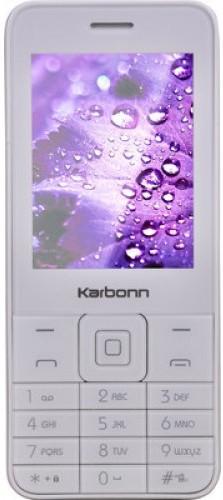 Karbonn K-1(White Champagne) image