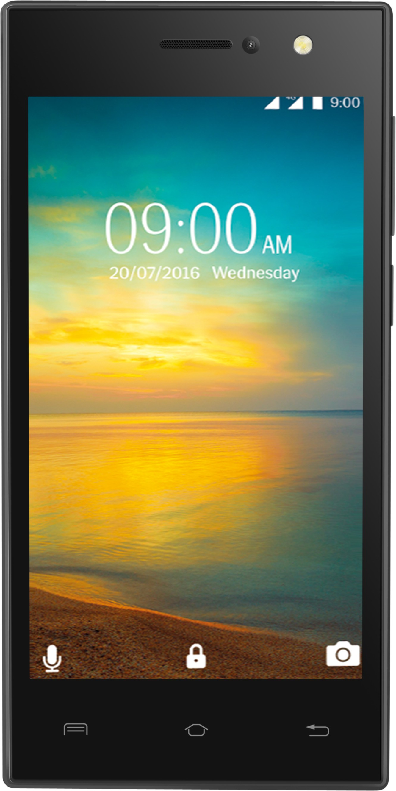 Lava A76+ 4G with VoLTE (Black, 8 GB)(1 GB RAM)