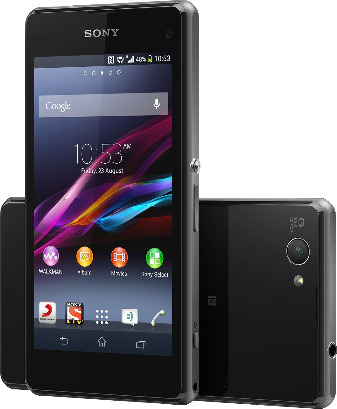 Sony Xperia Z1 Compact (Black, 16 GB)(2 GB RAM)