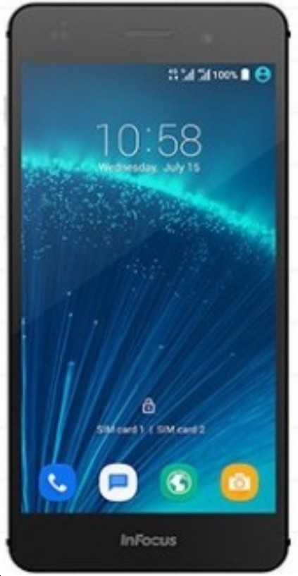 InFocus M808i (4G VoLTE) (Mysterious Silver, 16 GB)(2 GB RAM)