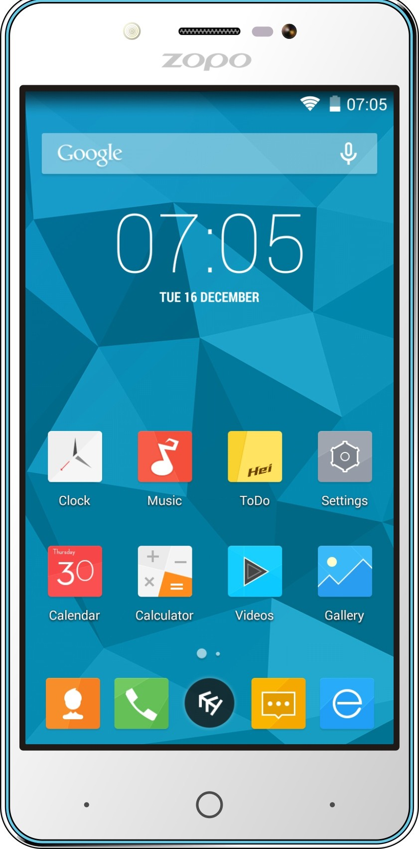 ZOPO Color E ZP350 (White, 8 GB)(1 GB RAM)
