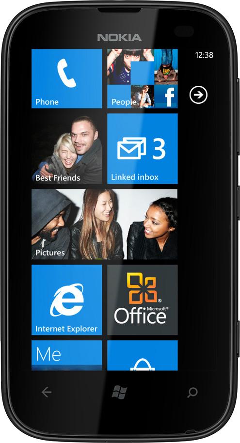 Nokia Lumia 510 (256MB RAM, 4GB)