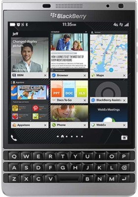 Blackberry Passport Silver (Silver, 32 GB)