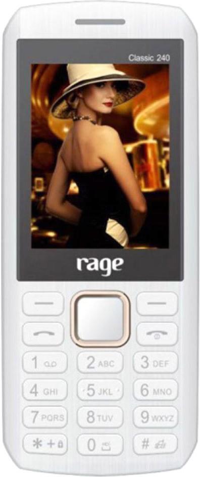 RAGE Classic_240(White & Gold)