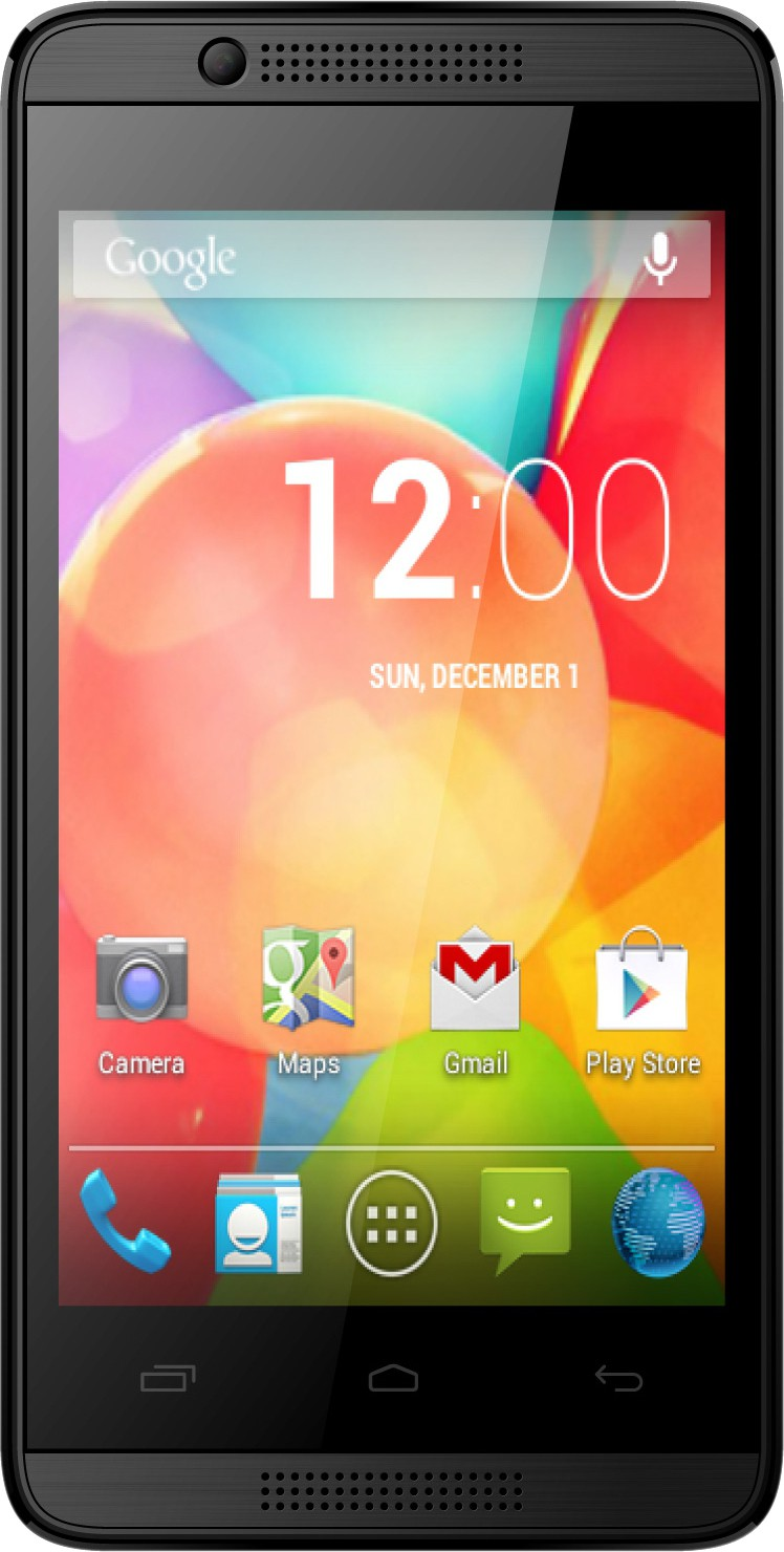Intex Aqua 3G Pro (Black, 4 GB)(512 MB RAM)
