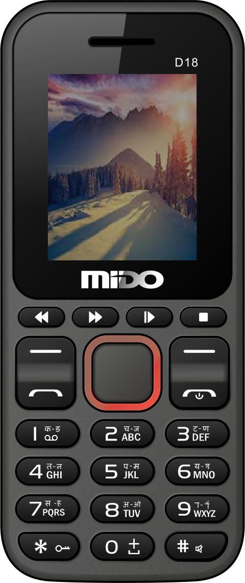 Mido D18(Black & Red)