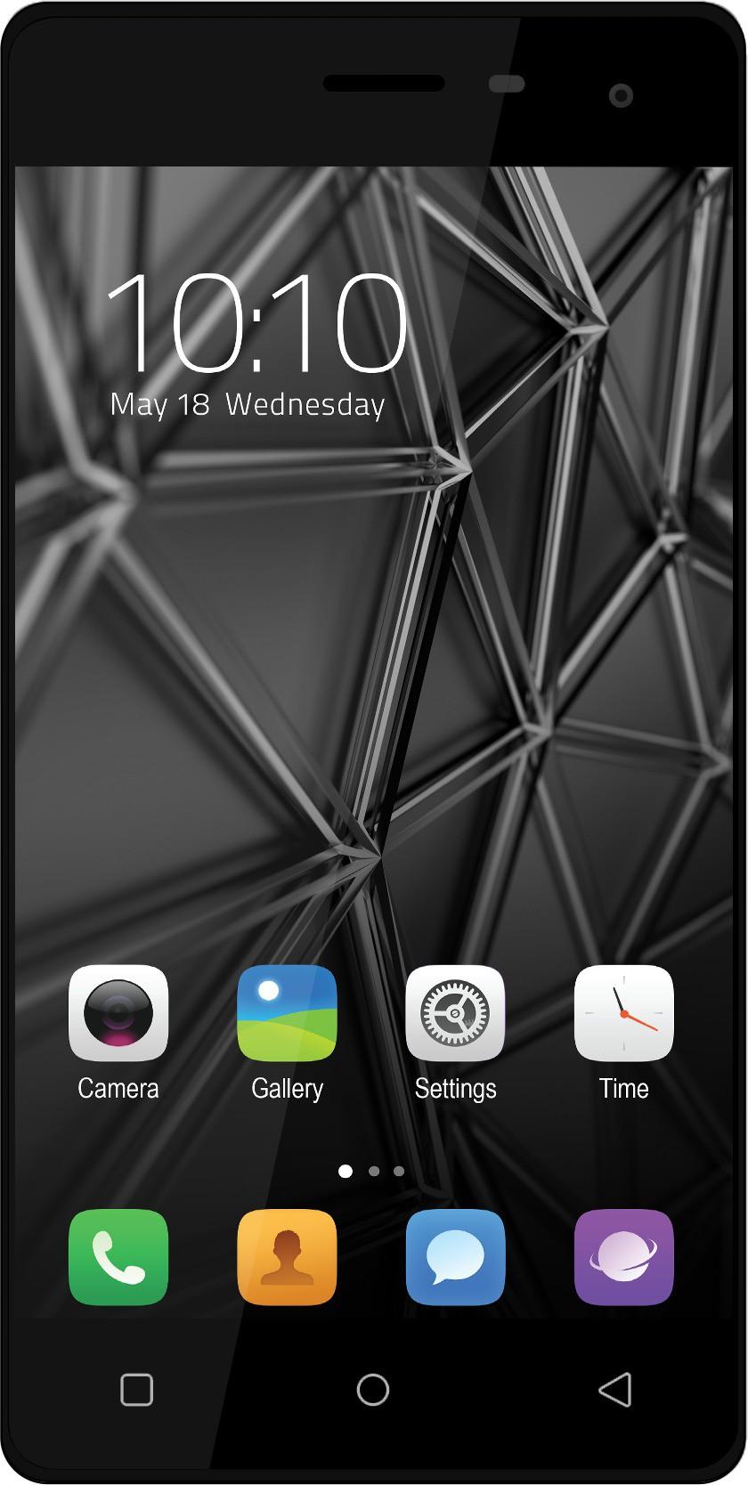 Celkon Millennia Q599 (Black, 8 GB)(1 GB RAM)