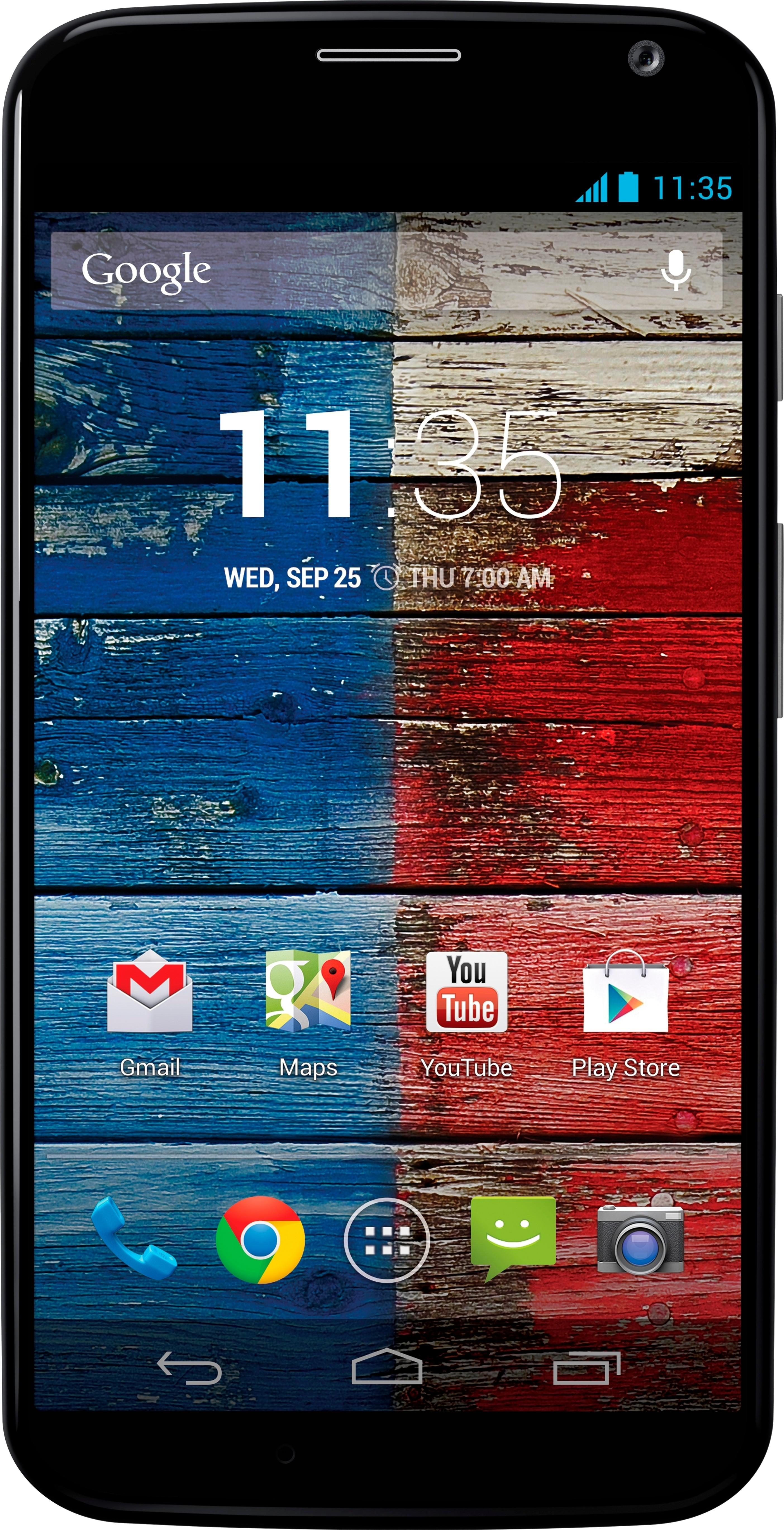 View Moto X (Black/Blue, 16 GB)(2 GB RAM) Mobile Price Online(Motorola)
