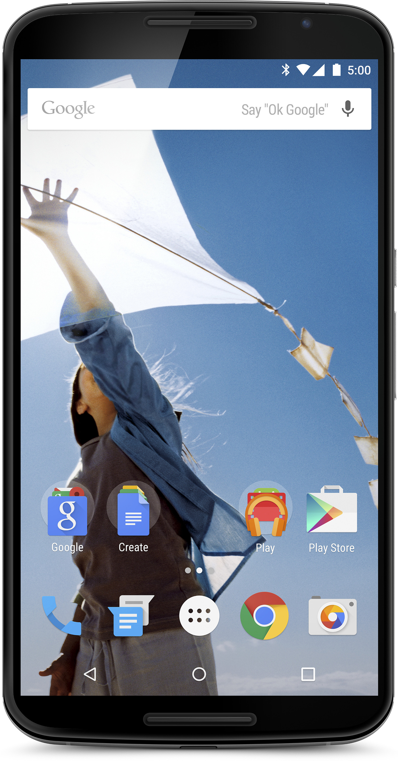 Nexus 6 (Cloud White, 32 GB)(3 GB RAM)