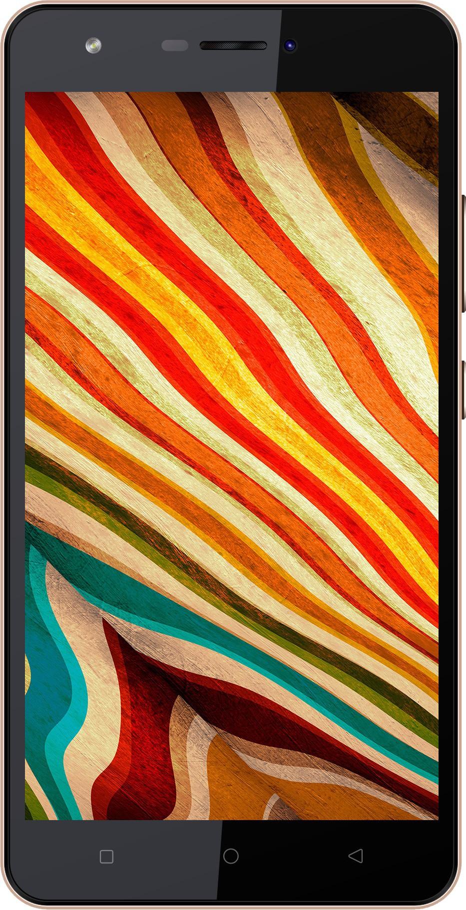 Karbonn Aura Note 4G (Champagne, 16 GB)(2 GB RAM) image