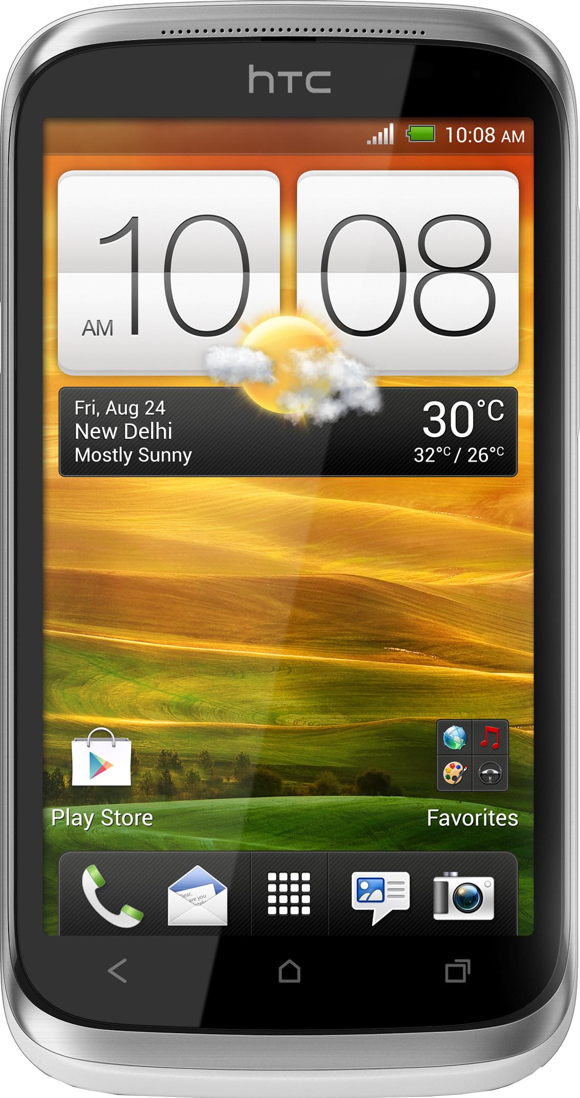 HTC Desire X T328E (Neutral White, 4 GB)(768 MB RAM)