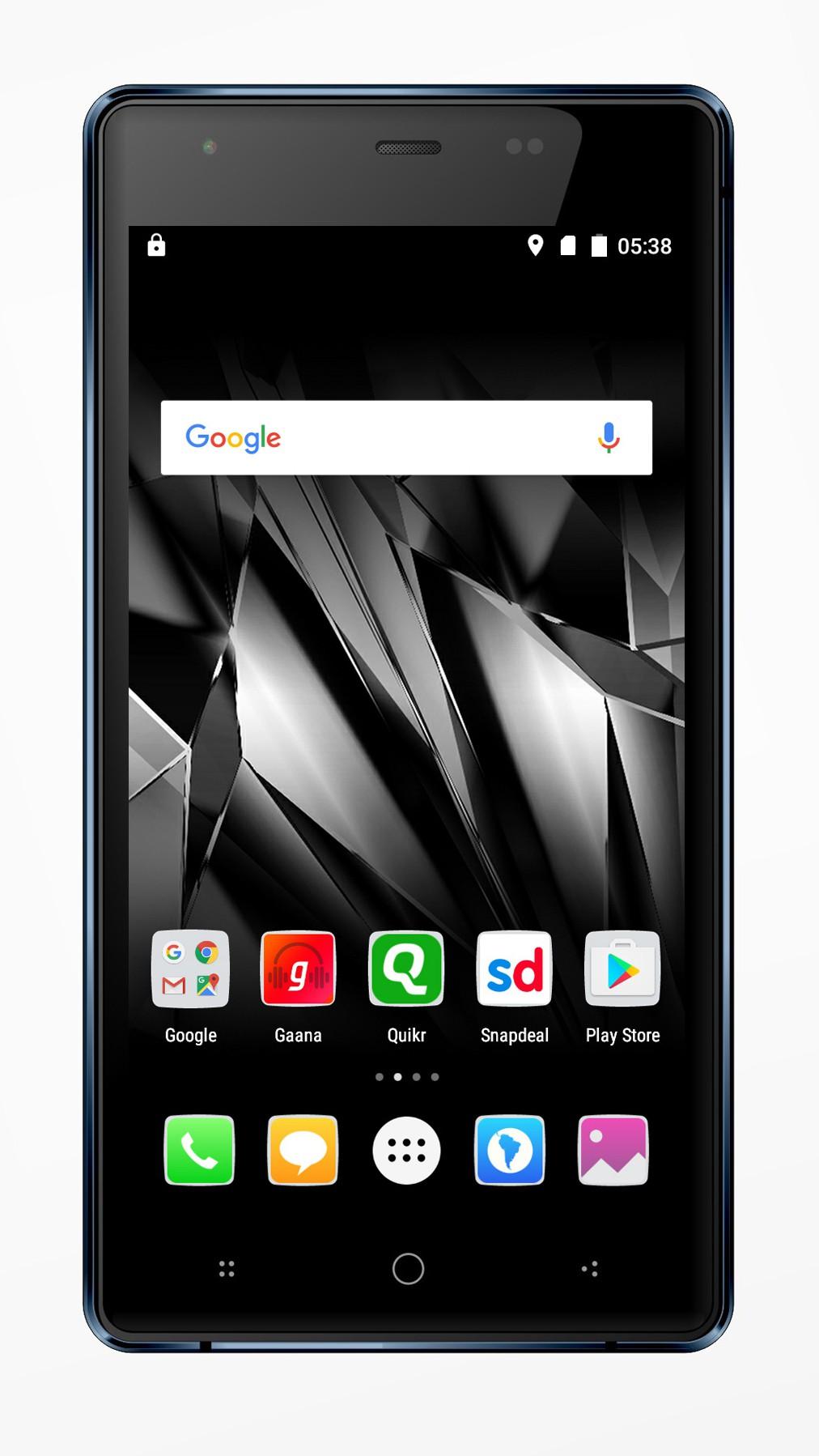 Micromax Canvas 5 Lite (Black, 16 GB)(2 GB RAM)