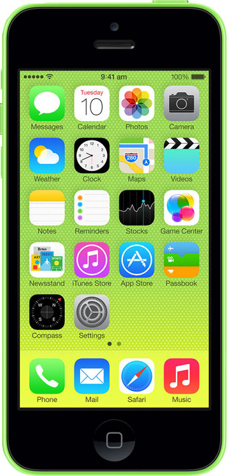 Apple iPhone 5C (Green, 32 GB)