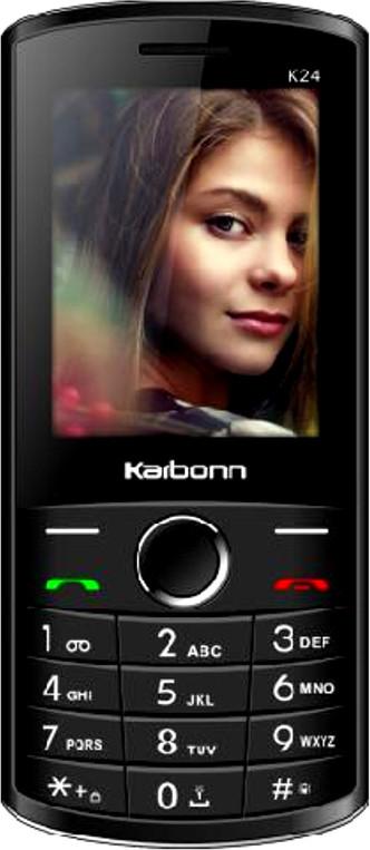 Karbonn K24(Black and Silver)