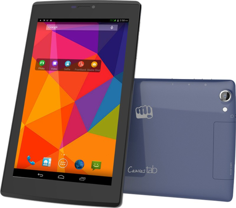 Micromax Canvas Tab (Blue, 8 GB)(1 GB RAM)