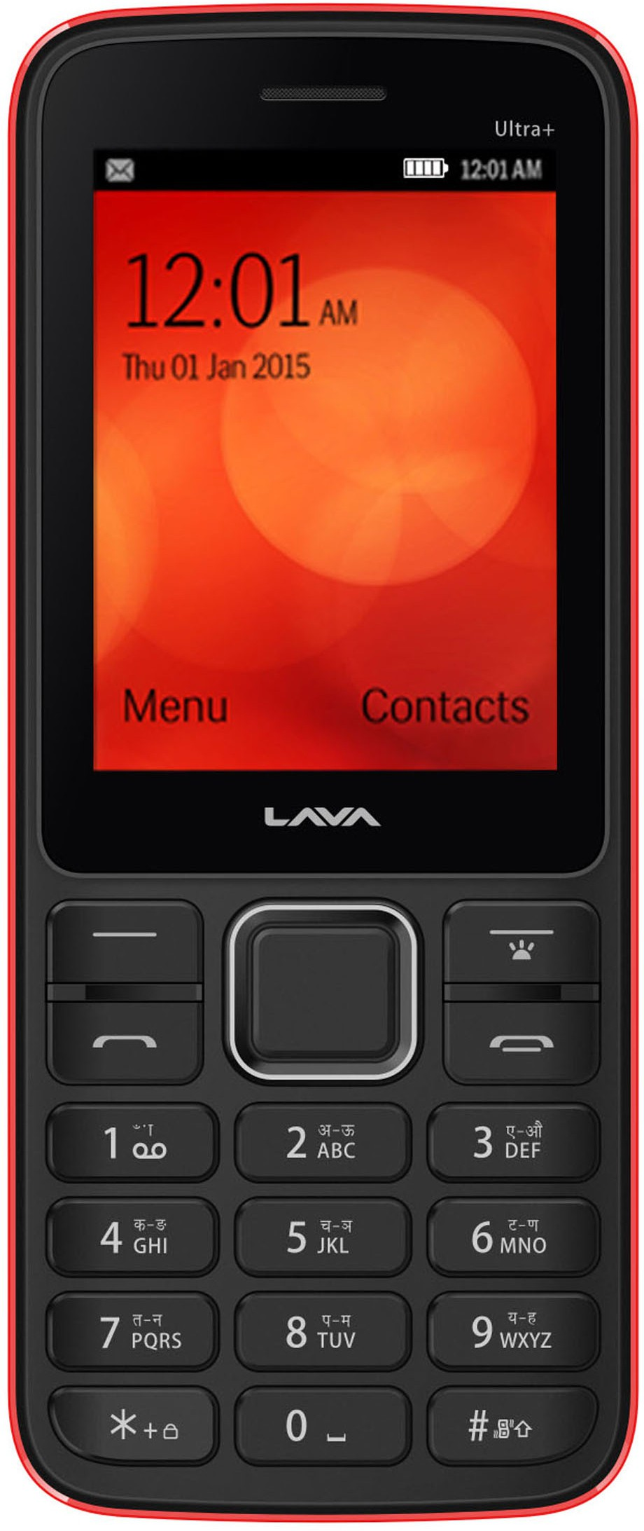 Lava KKT Ultra Plus(Black & Red)
