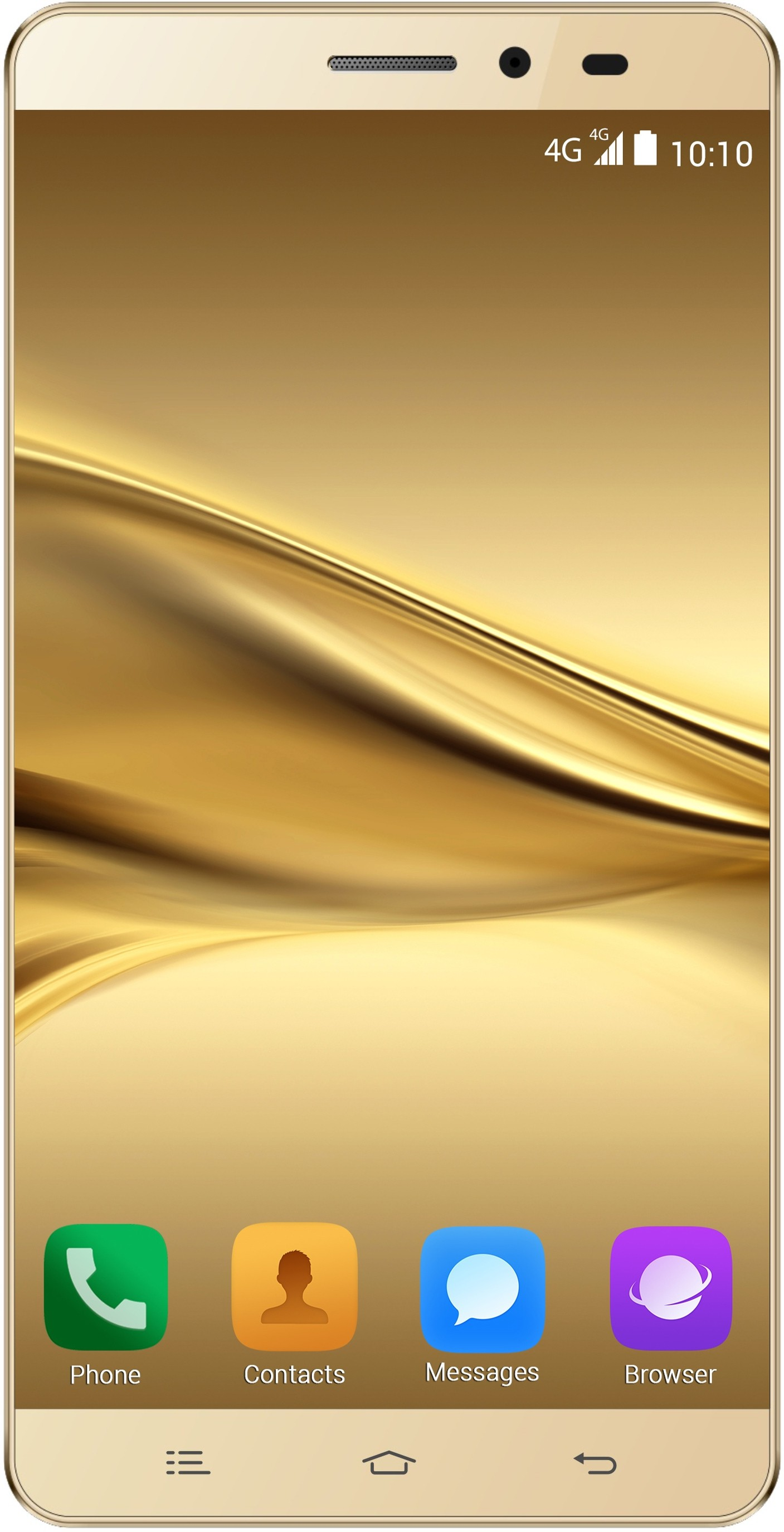 Celkon Diamond Q4G Plus (2GB RAM) (Gold, 16 GB)(2 GB RAM)