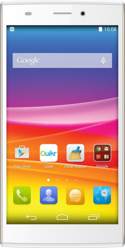Micromax Canvas Nitro 2 (White & Gold, 16 GB)(2 GB...
