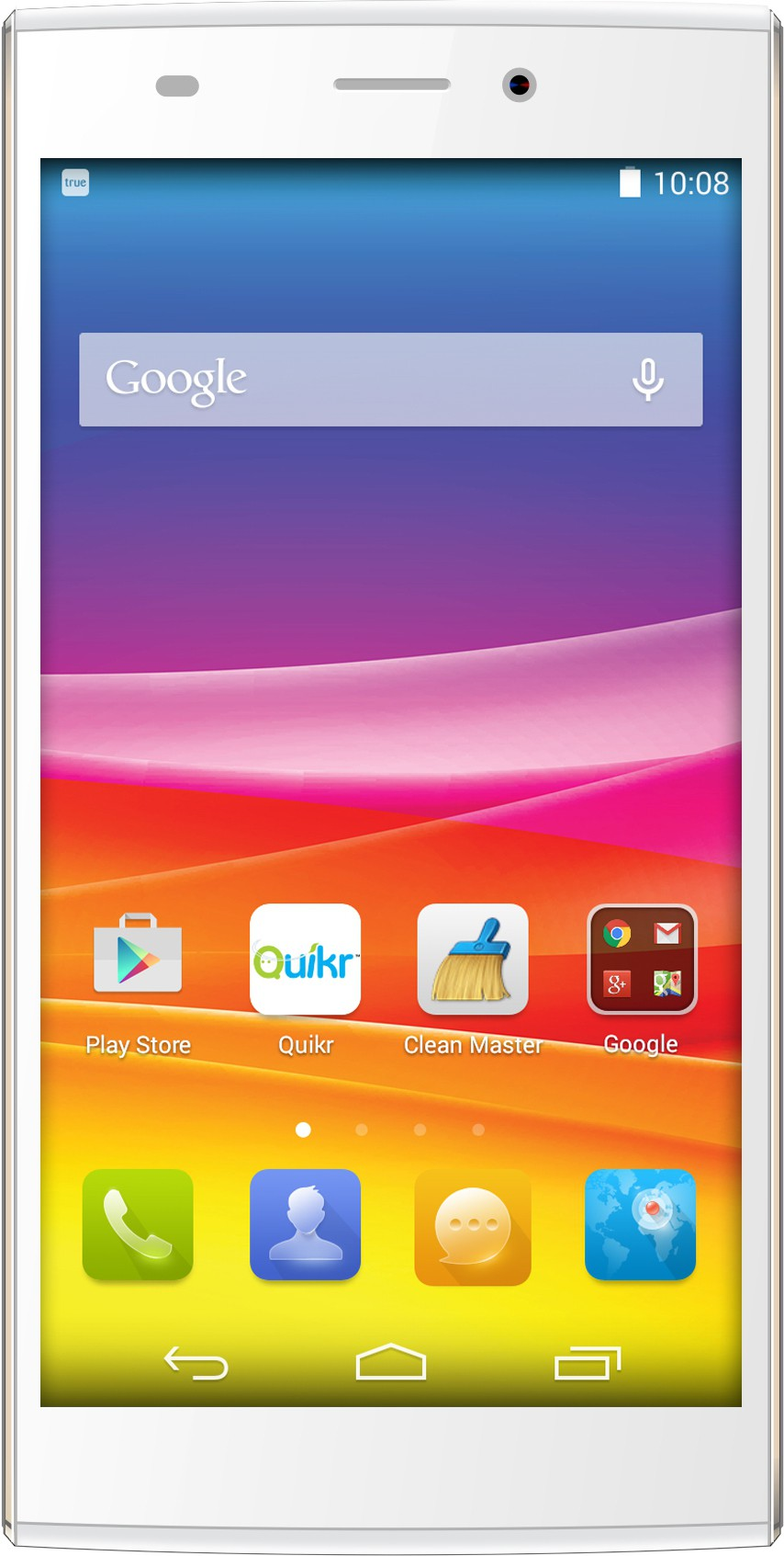 Micromax Canvas Nitro 2 (White & Gold, 16 GB)(2 GB RAM)