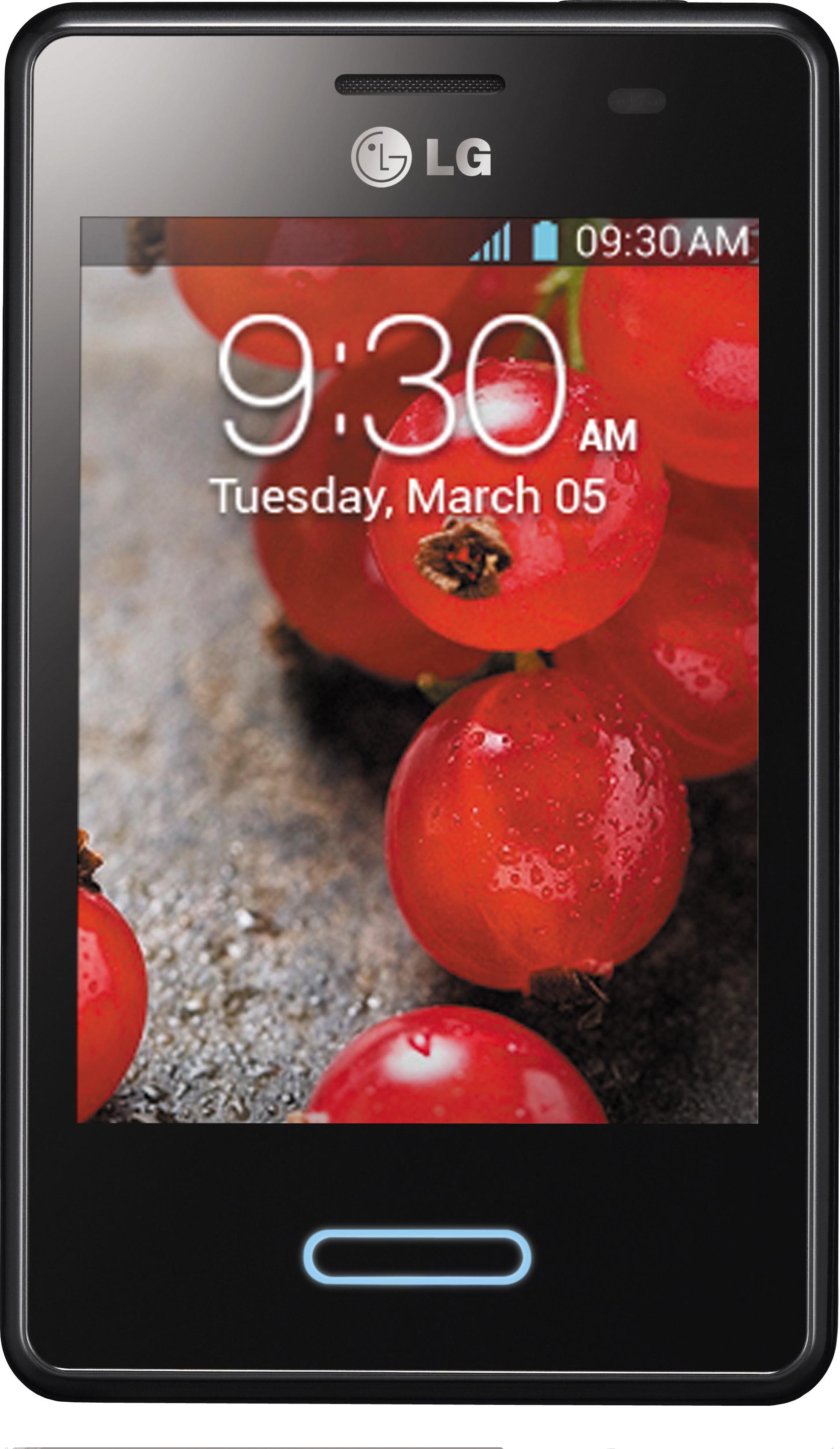 LG Optimus L3 II E425 (Black, 4 GB)(512 MB RAM)