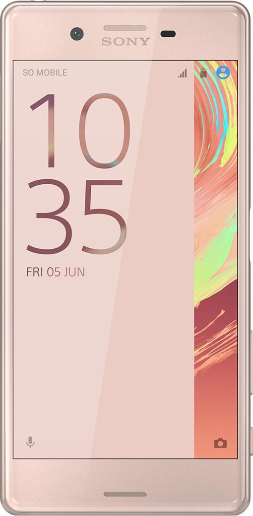 Sony Xperia X Dual Sim (Rose Gold, 64 GB)(3 GB RAM)