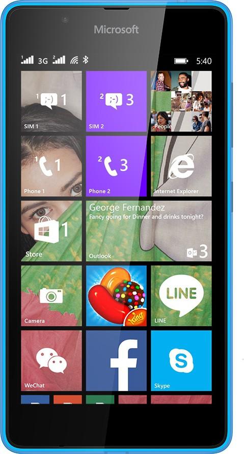 Microsoft Lumia 540 (1GB RAM, 8GB)