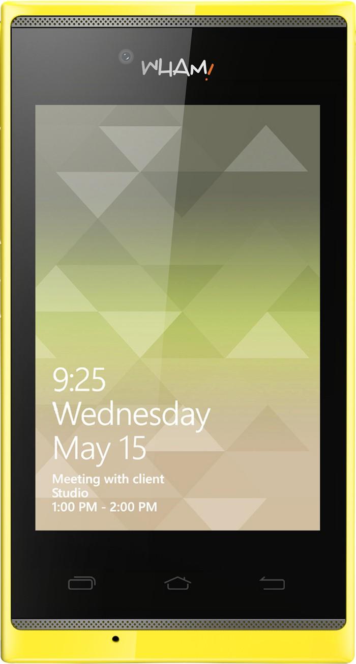 Wham M5 (Yellow, 512 MB)(256 MB RAM)