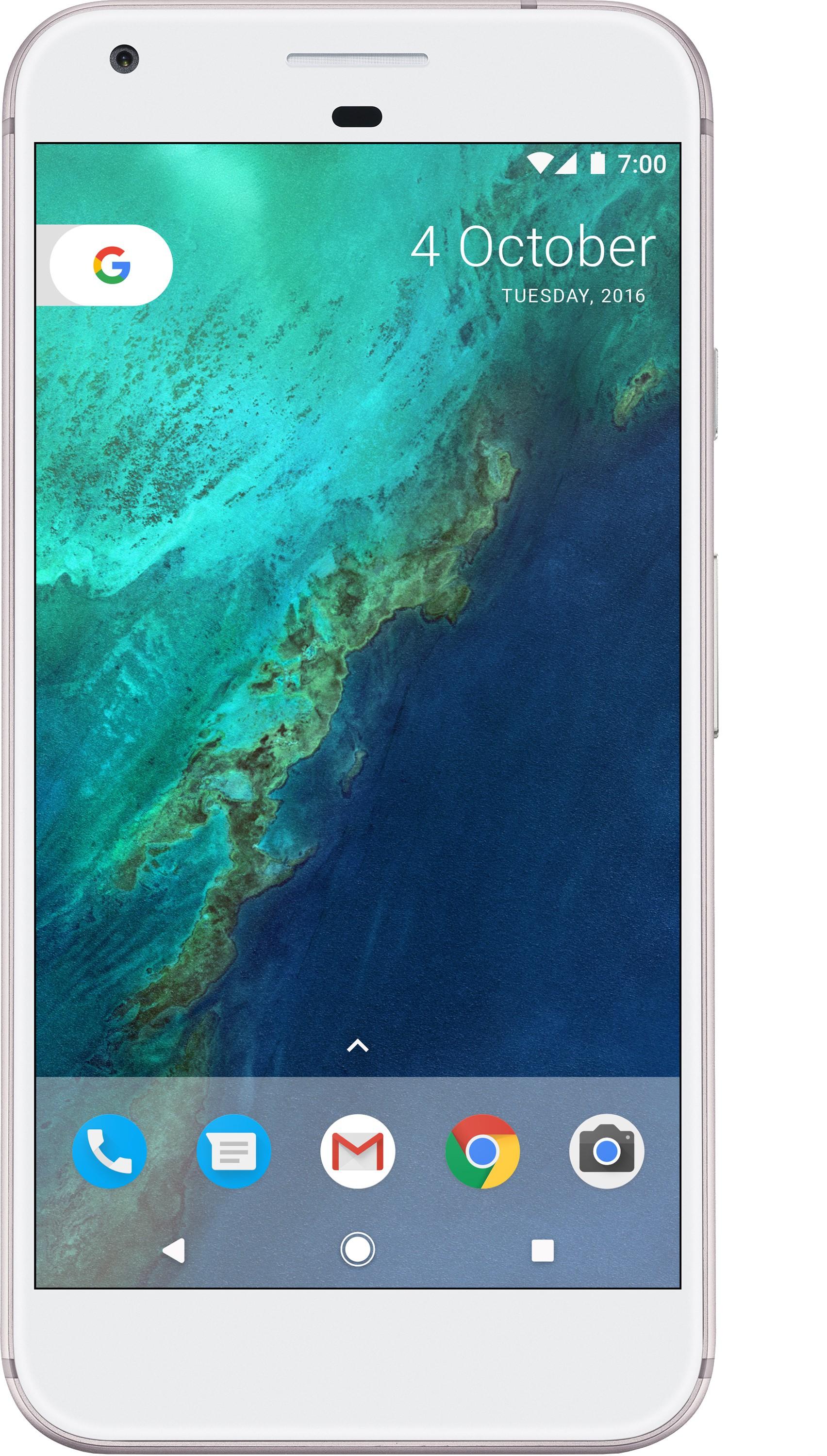 Google Pixel (Very Silver, 32 GB)(4 GB RAM)