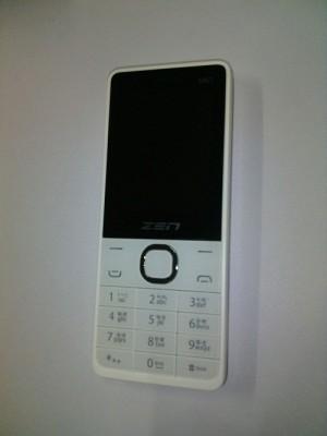 Zen dual sim slim phone